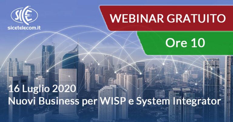 webinar SICE nuovi business per WISP