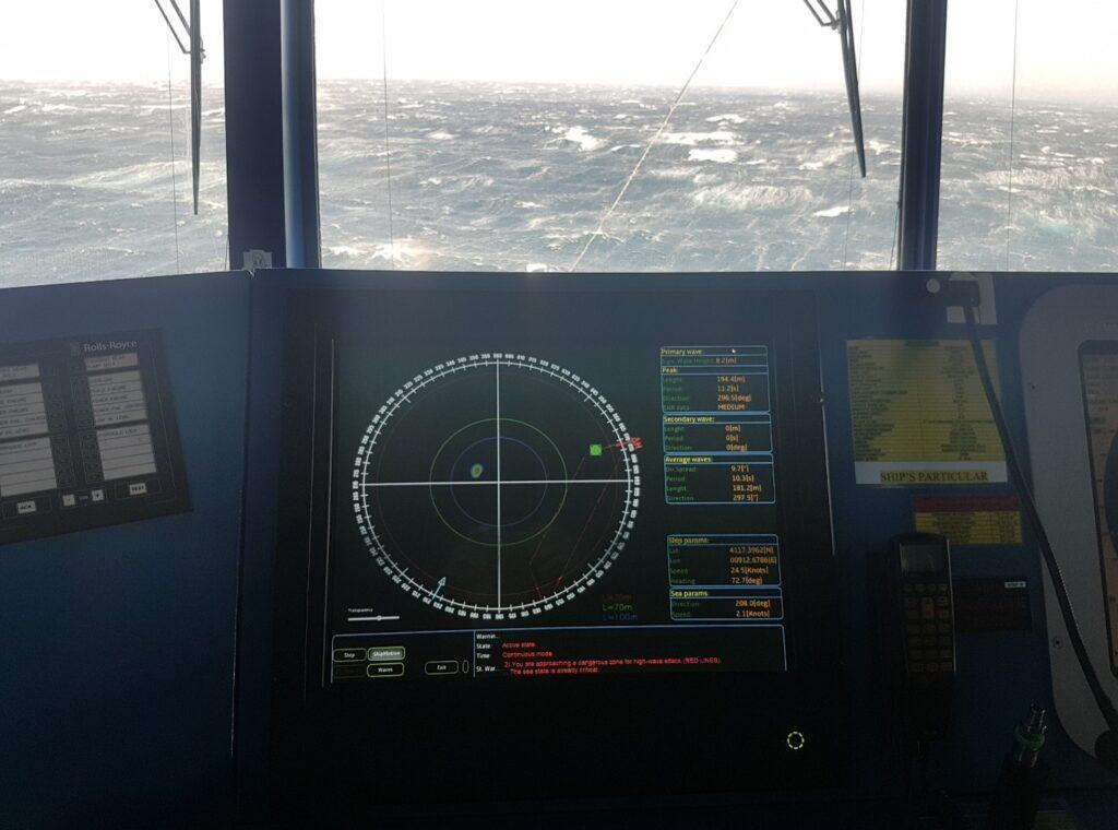 monitoraggio del mare