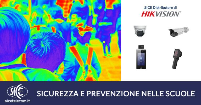 telecamere termiche e termoscanner per scuole