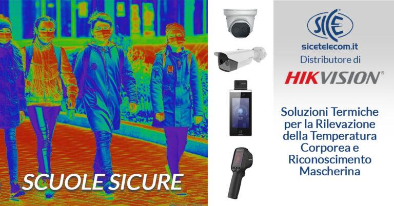 riapertura scuole termoscanner e telecamere termiche