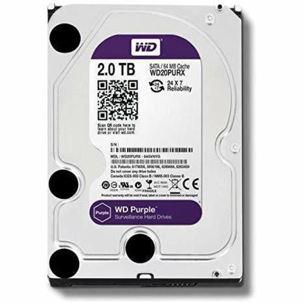 WD20PURX-2T   Hard Disk SATA Western Digital 2T bite