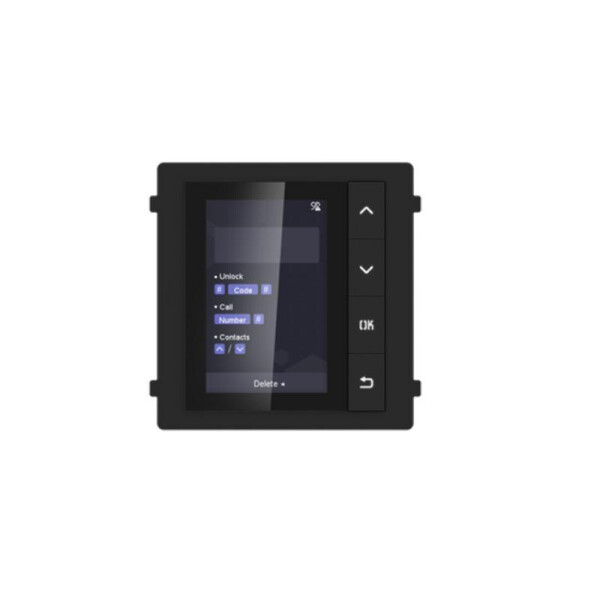 DS-KD-DIS | INTERCOM modulo di espansione DISPLAY LCD 3