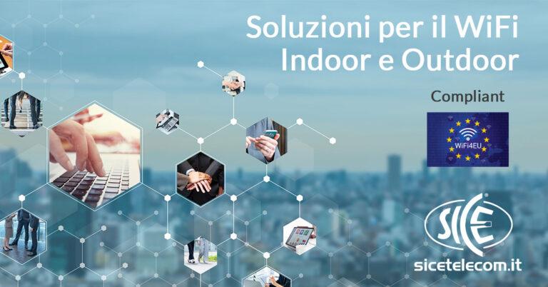 wifi indoor e outdoor SICE