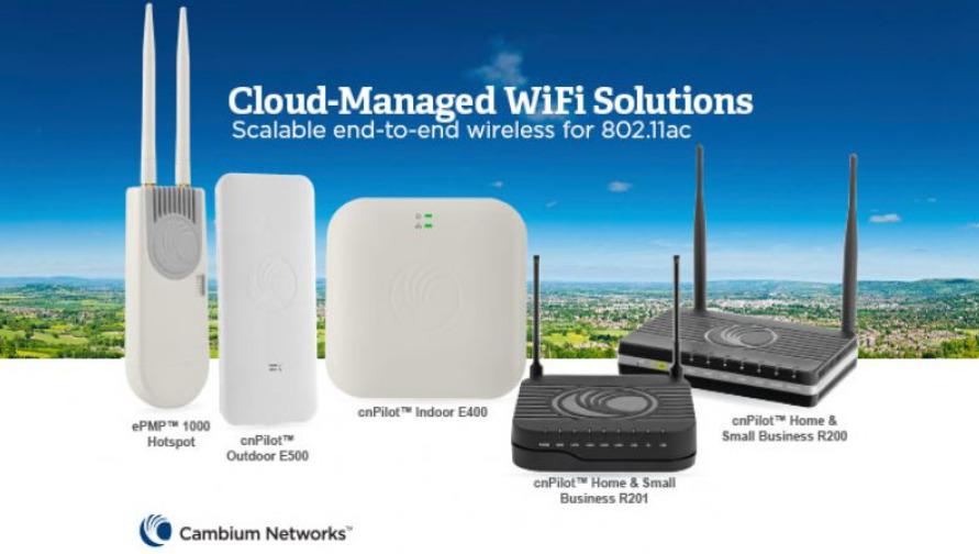 hotspot e wifi 6 SICE - Cambium Networks