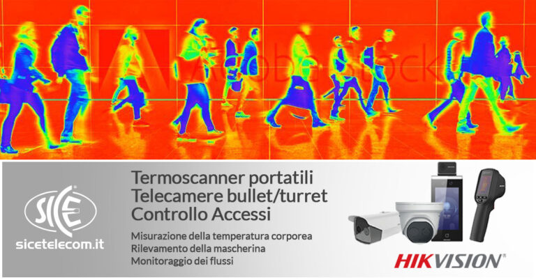 Termoscanner portatili SICE