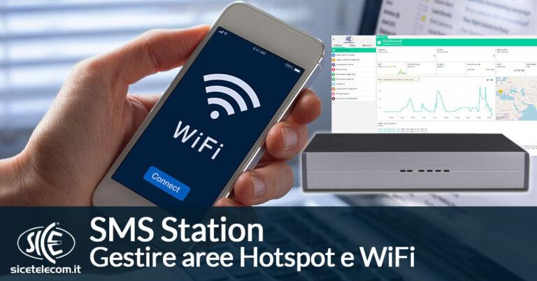 hotspot e wifi SICE SMS Station