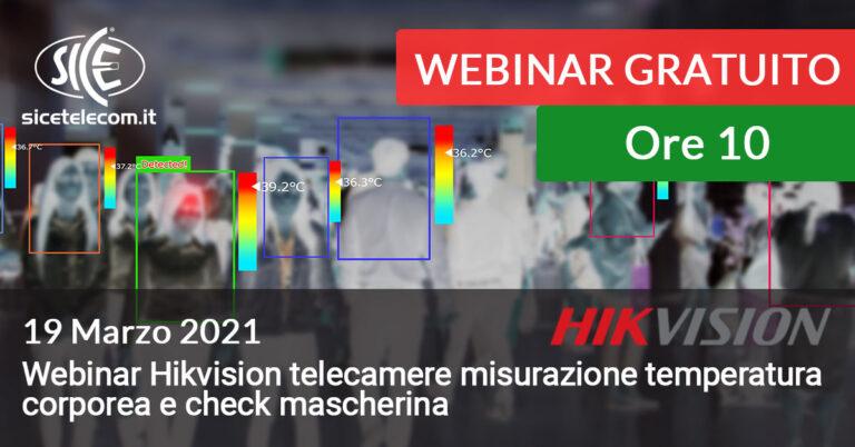 19 marzo webinar hikvision