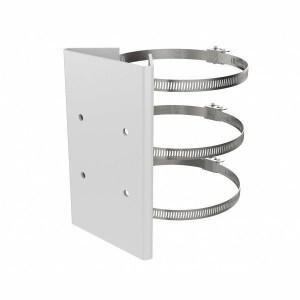 DS-1673ZJ-P | Adattatore da palo in acciaio colore grigio