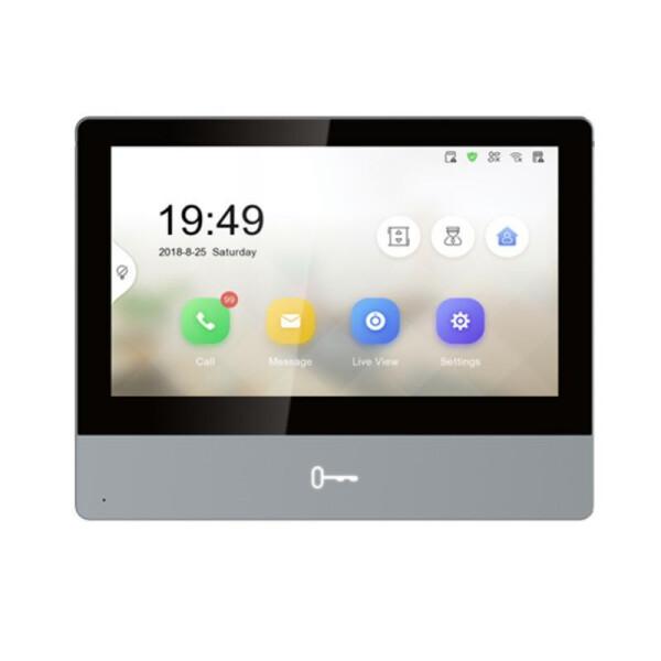DS-KH8350-WTE1 | Intercom Indoor IP Display 7 Touch screen 1 pulsante