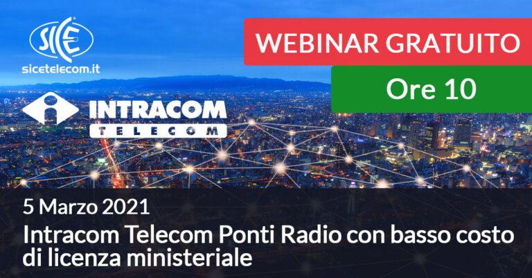 5 marzo webinar intracom telecom SICE