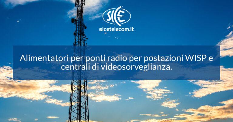Alimentatore per ponti radio AirPower 7 SICE telecomunicazioni