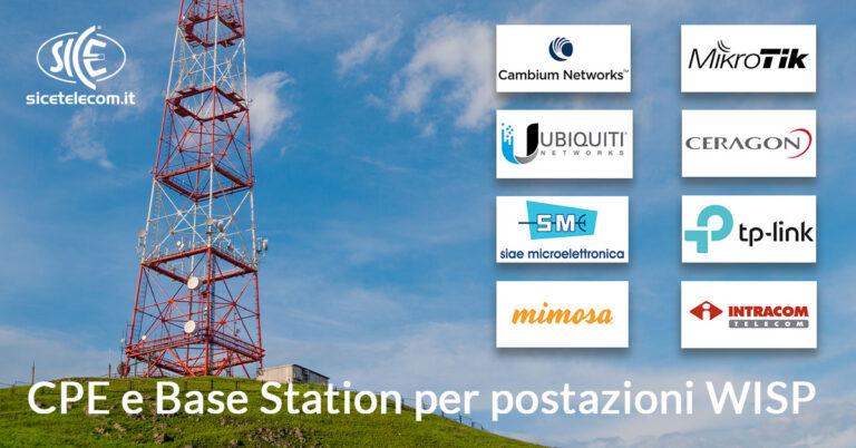 SICE distributore CPE e base station per wisp