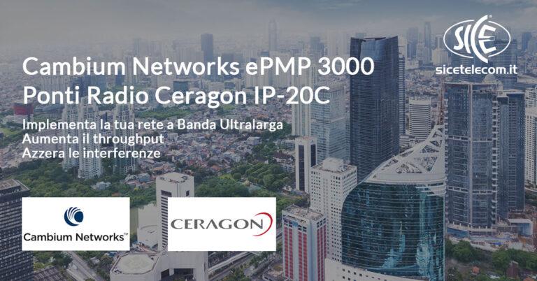 SICE distributore base station cambium epmp 3000