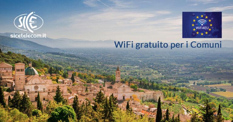 comuni vincitori del bando wifi4eu SICE