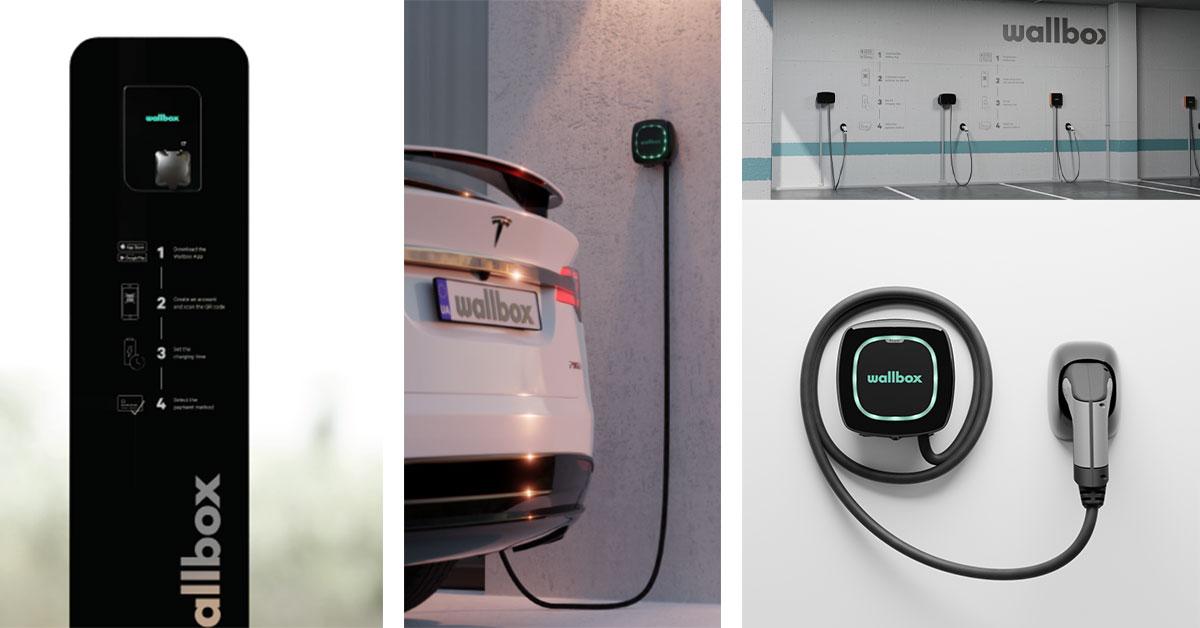 caricabatterie wifi per auto elettriche Wallbox