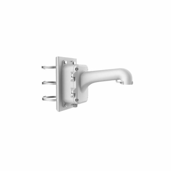 DS-1604ZJ-BOX-PO | Vertical Pole Mounting Bracket with Junction Box