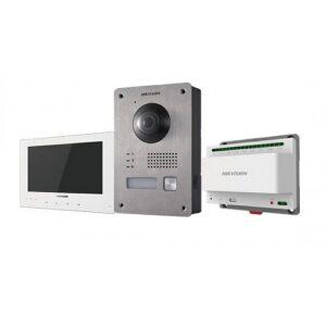 DS-KIS701 | Kit 2 Fili: OUTDOOR DS-KV8103-IME2 + INDOOR DS-KH8340-TCE2