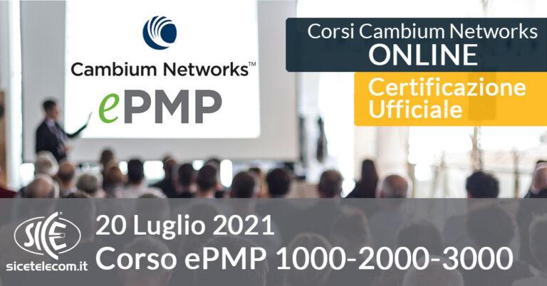 Corso Online Cambium Networks ePMP SICE Telecomunicazioni