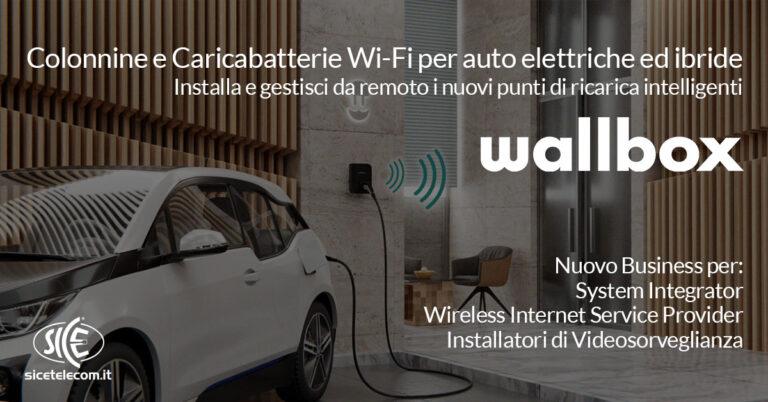 SICE_Wallbox colonnine e caricabatterie per auto elettriche