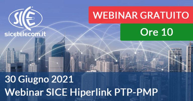 Webinar SICE Hiperlink ptp pmp 30 giugno 2021