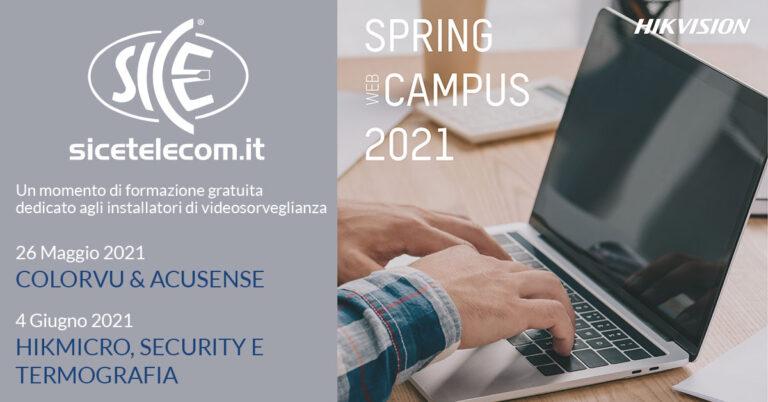 web campus hikvision - SICE Telecomunicazioni