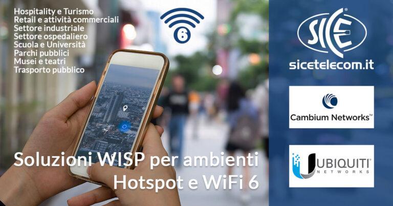 SICE distributore access point Hotspot e WiFi