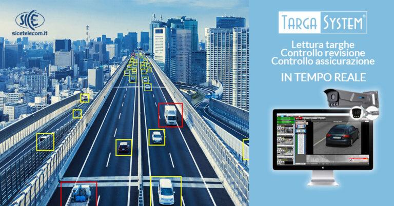 Lettura targhe e analisi video targa system - SICE Telecomunicazioni