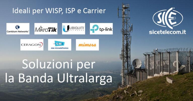 SICE Telecomunicazioni - Soluzioni per la Banda Ultralarga