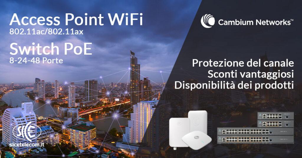 Access point Cambium Networks SICE Telecomunicazioni