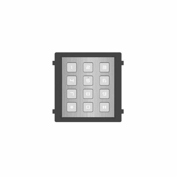 DS-KD-KP/S   Intercom Modulo espansione tastiera Inox 12 Pulsanti fisici
