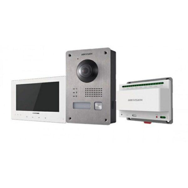 DS-KIS701   Kit 2 Fili: OUTDOOR DS-KV8103-IME2 + INDOOR DS-KH8340-TCE2