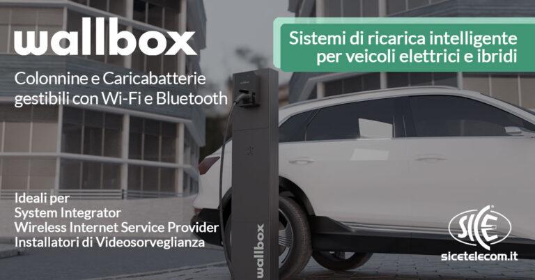 Wallbox sistemi di ricarica per veicoli elettrici