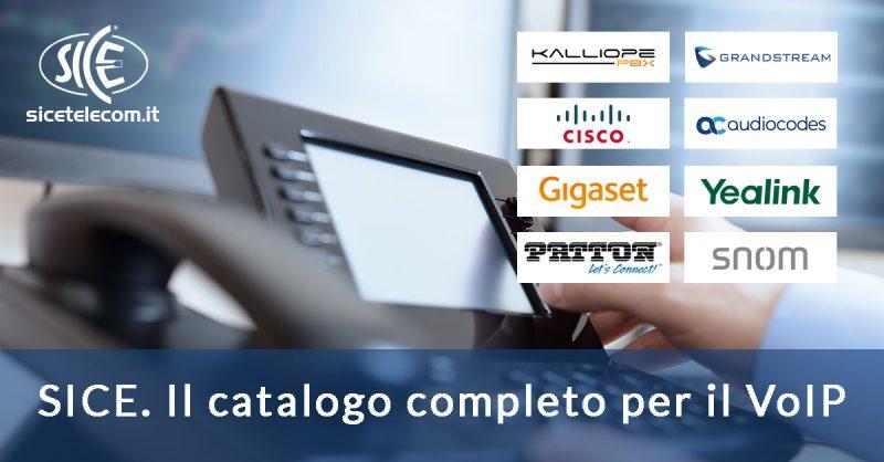 SICE: le soluzioni per il VoIP. ATA