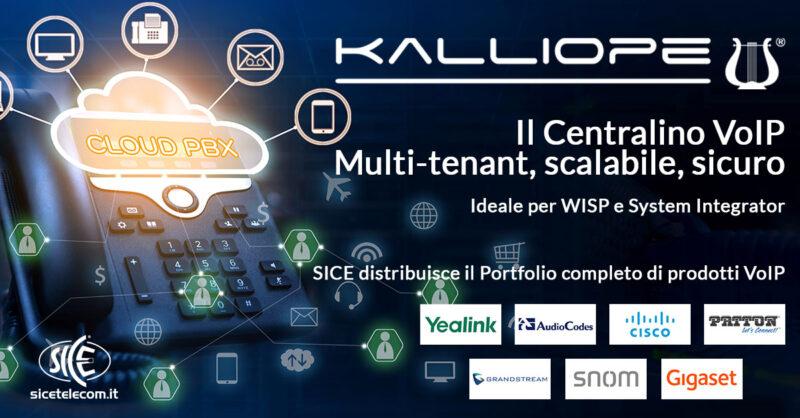 Centralino virtuale Kalliope4SP - SICE