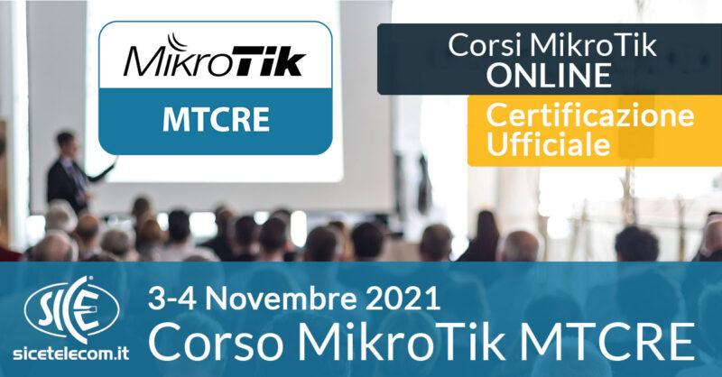 SICE Corso-MikroTik-MTCRE-3-4-novembre