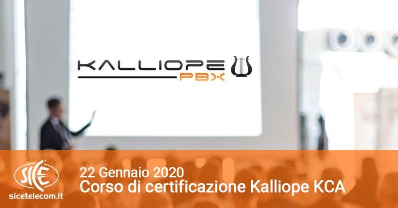 corsi VoIP SICE Kalliope KCA