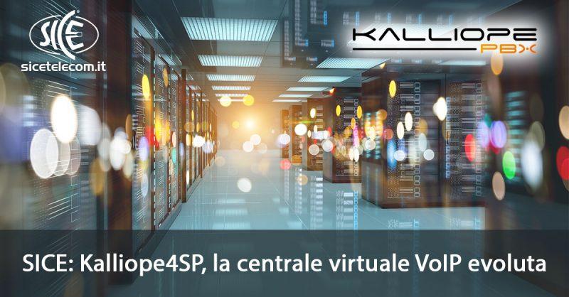 SICE Kalliope4SP soluzione per WISP