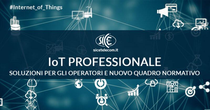 sbloccamento frequenze LoRaWAN SICE IoT Professionale