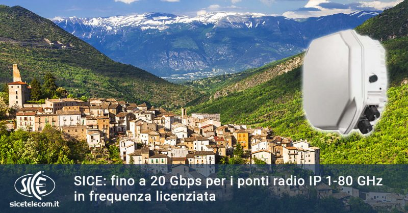 SICE Ponti radio licenza ministeriale
