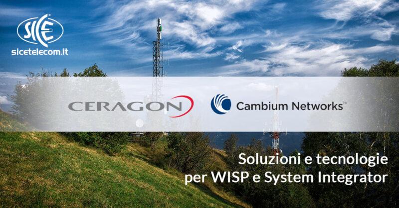 SICE Ponti Radio licenziati, Base Station e apparati Wi-Fi WISP System Integrator