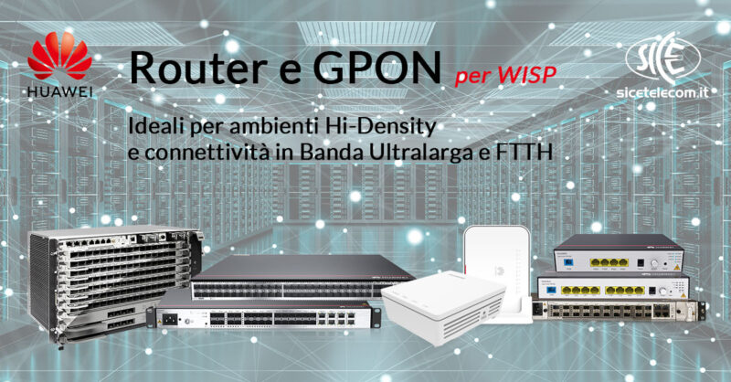 SICE _Router e GPON Huawei