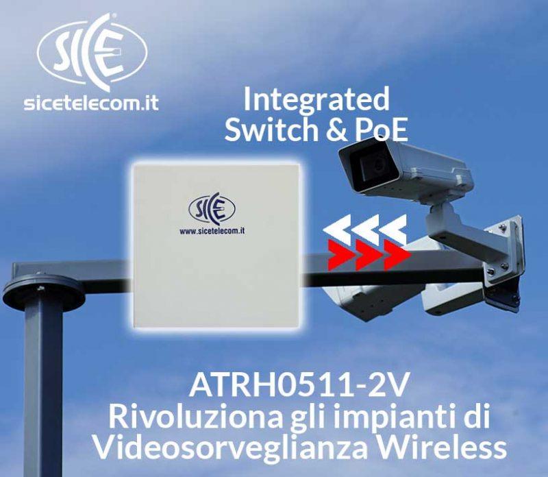 CPE per Videosorveglianza Urbana: Switch e PoE integrati per ottimizzare le installazioni su palo
