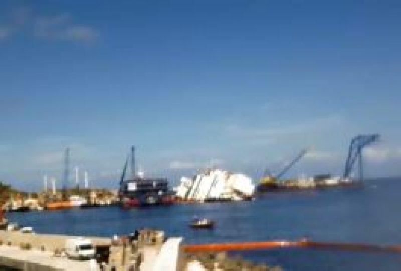 Operazione Costa Concordia: SICE fornisce i ponti Radio a ReteIVO