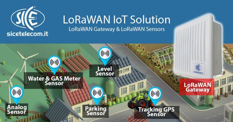 27 Marzo 2019 SICE IoT LoRaWAN Open Day gratuito