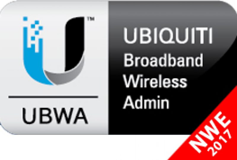 Corso Italiano Ubiquiti Broadband Wireless Admin UBWA V2 24-25 Maggio 2017 c/o NWE