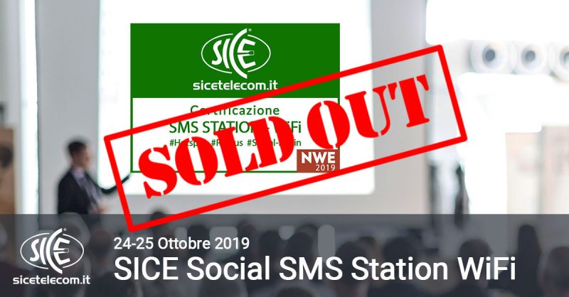 SICE SMS STATION NWE sold out
