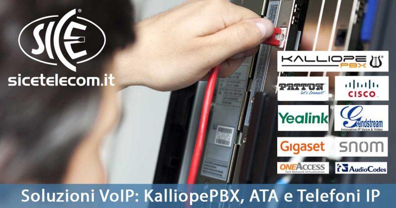 Soluzioni VoIP: KalliopePBX