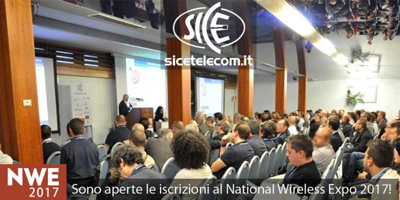 SICE partecipa alla fiera National Wireless Expo 2017 il 23-24 maggio 2017
