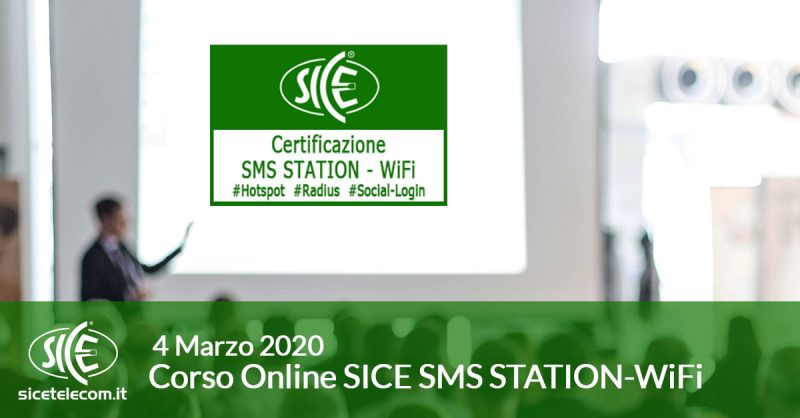 SMS STATION Online 4 marzo