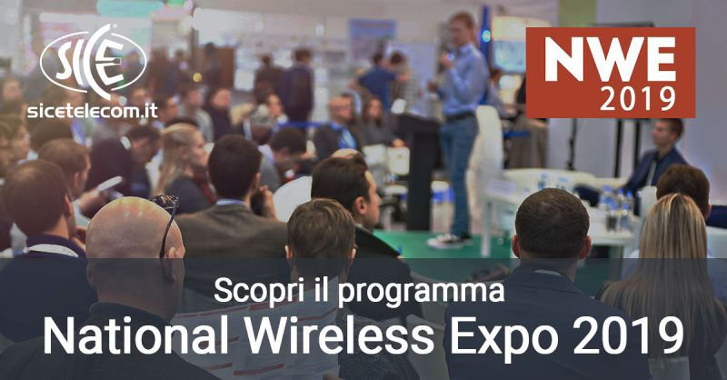 Scopri il programma del National Wireless Expo 2019